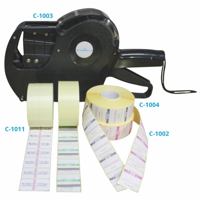 Self-Adhesive Documentation Label and Labeler